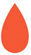 Pétalo naranja vertical